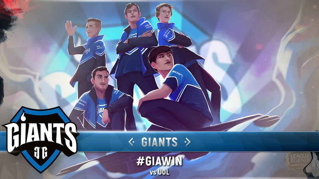 RT @lolesports: .@GiantsGaming get their name on the board as well after taking down the @UnicornsOfLove! #GIAWIN https://t.co/JbEHDl3FQv