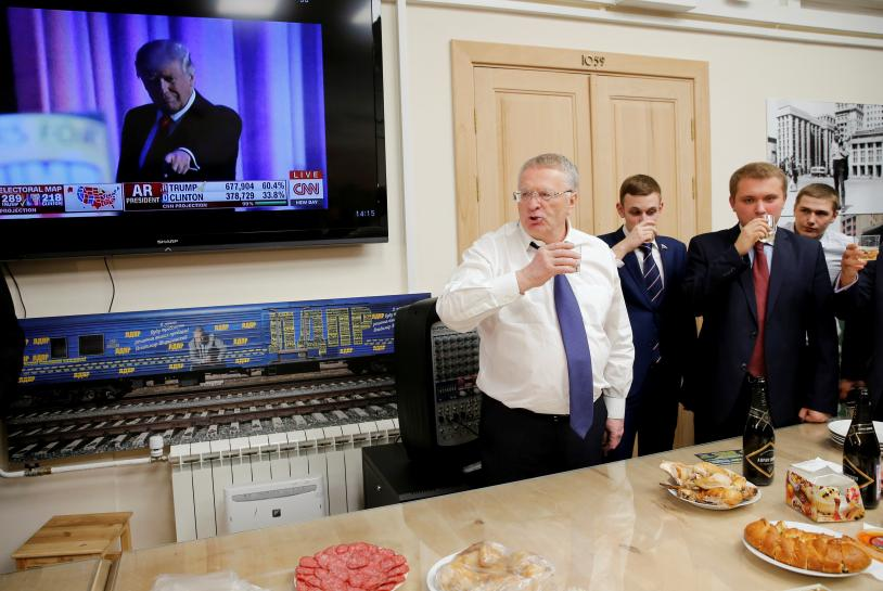 In Russia, Trump inauguration euphoria leaves lasting hangover