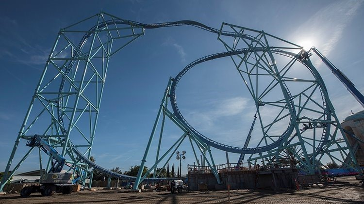 New SeaWorld roller coaster will be San Diego's tallest