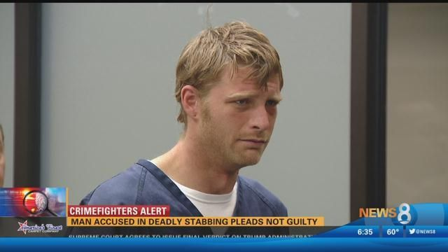 Man accused in deadly Poway stabbing pleads not guilty