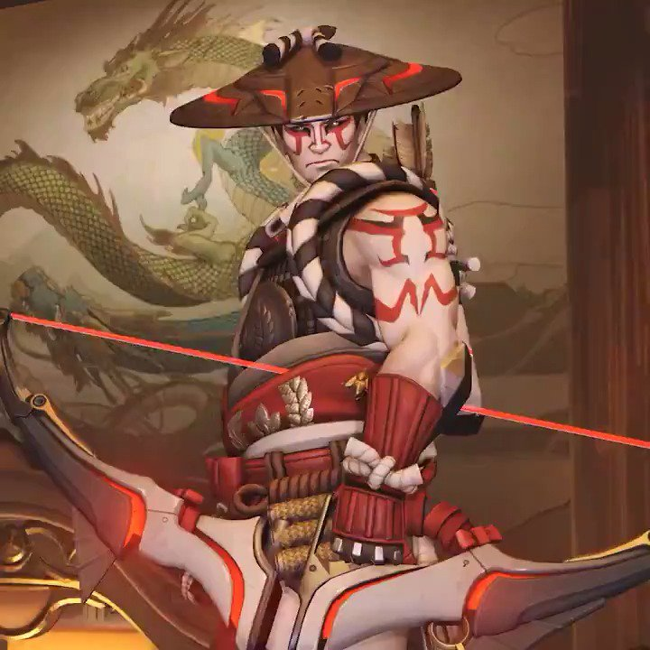 Only 3 more days until our cosmetics update arrives in Overwatch! Join us as we count down to their release with new item reveals every day.    Today's reveal: KABUKI HANZO (Legendary Skin) https://t.co/P5Ef6C3Ks0
