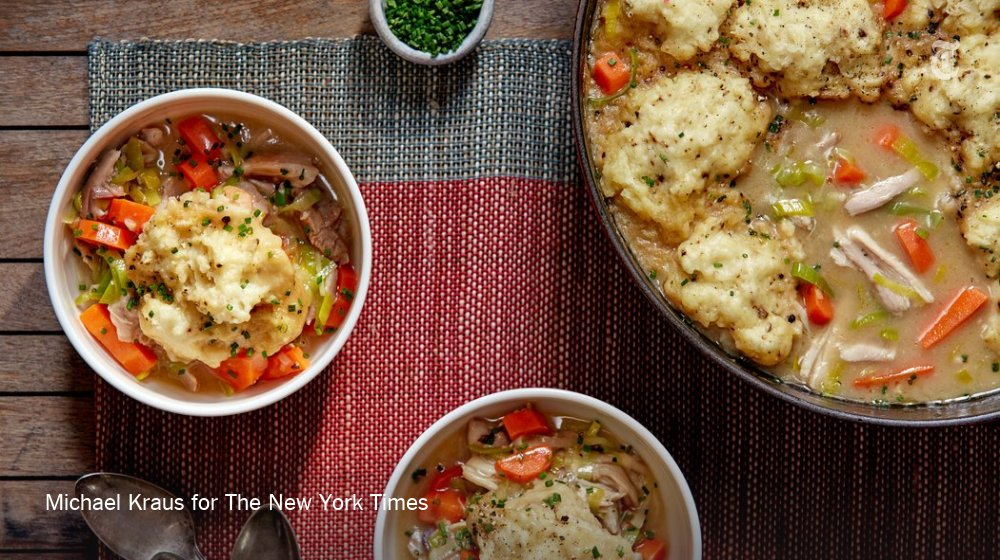 Heartier than chicken soup, this classic comfort dish is decidedly more stewlike https://t.co/IsLYdy9ZUW https://t.co/j8eejitCgl