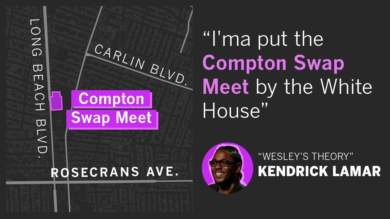 One Los Angeles street has inspired more than 40 rap songs https://t.co/3o3J6s2cVF https://t.co/bYtqgpnDN3