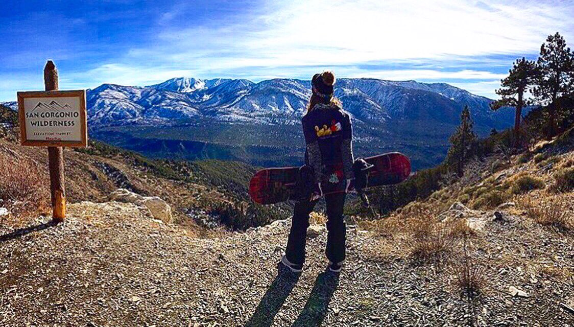 test Twitter Media - Winter is coming! (FINALLY)  Mad props to @sweden22 for this rad shot of the SoCal mountains. Not to mention, she's also repping a pretty cool shirt, too. 🐥 #thelostabbey #duckduckgooze #craftbeer #sdbeer https://t.co/9k53xklbYv