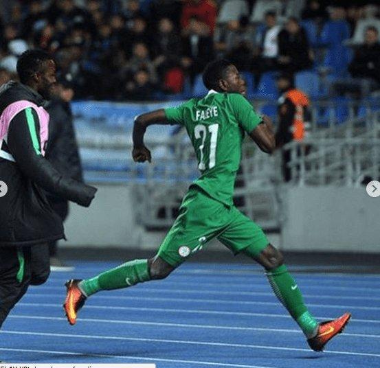 CHAN: Faleye late strike help Eagles beat Libya https://t.co/HPF8OhnqlE https://t.co/KwEQ1rOeo8