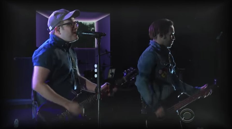 See Fall Out Boy play a guitar-heavy 'Hold Me Tight or Don't' on #LSSC https://t.co/XvrEZOvFWB https://t.co/cFslOXf6cP
