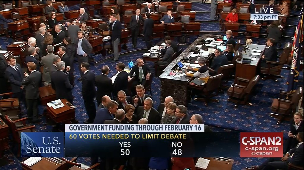 RT @alexcguillen: Very interesting Senate huddle convo going on right above the vote tally chyron https://t.co/v8TtCVuAiW