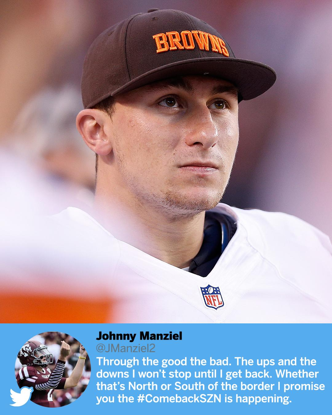 Johnny Comeback? https://t.co/Wpe0HnM5lh