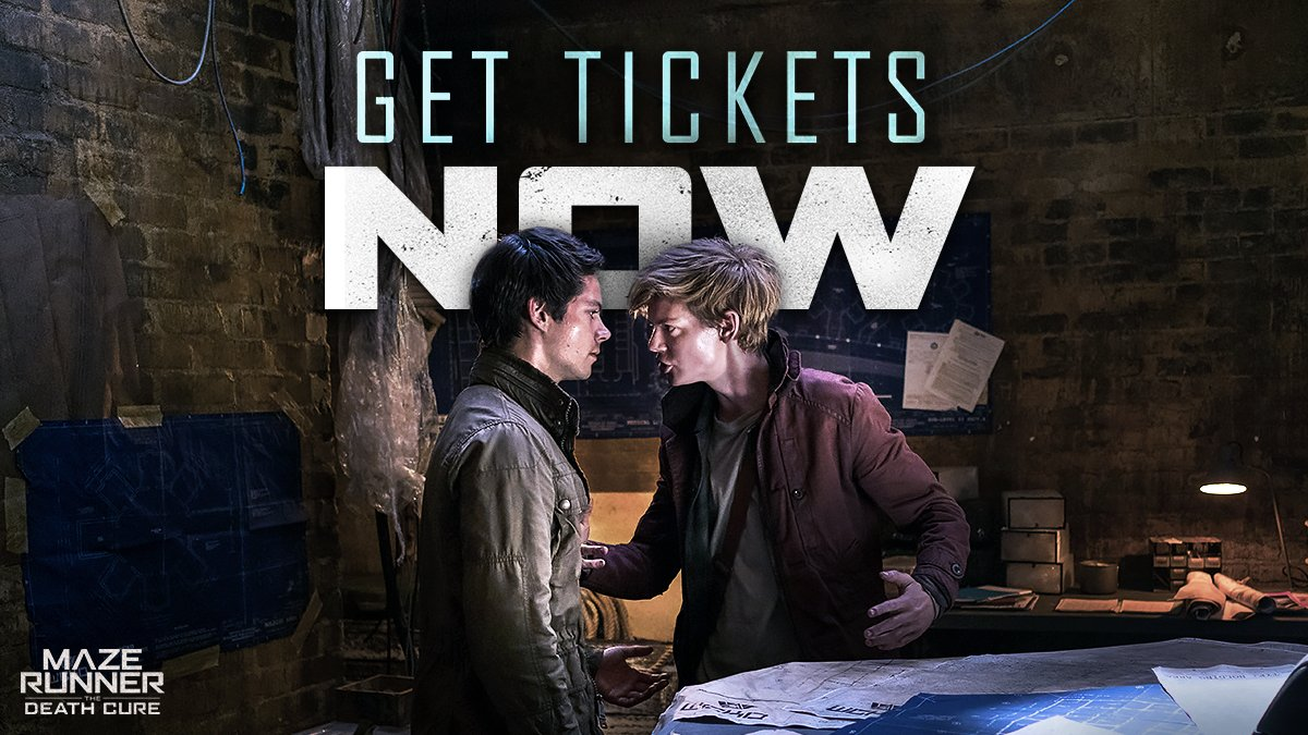 From the Maze to the #DeathCure . Witness the final chapter in theaters 1.26.18 https://t.co/DJvxkzRWne https://t.co/P64pcJqBDZ