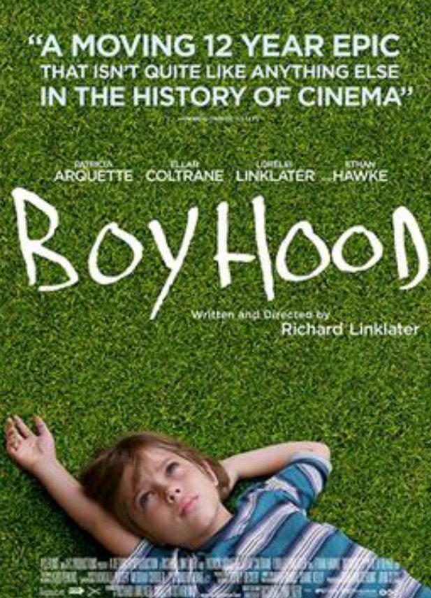 Watching #Boyhood on @netflix it took them 12yrs to film this you see the boy grow up from age 7 to 19 played by the same actor this is the only movie I've ever seen where all the cast age in front of your eyes https://t.co/umDkvyknhX