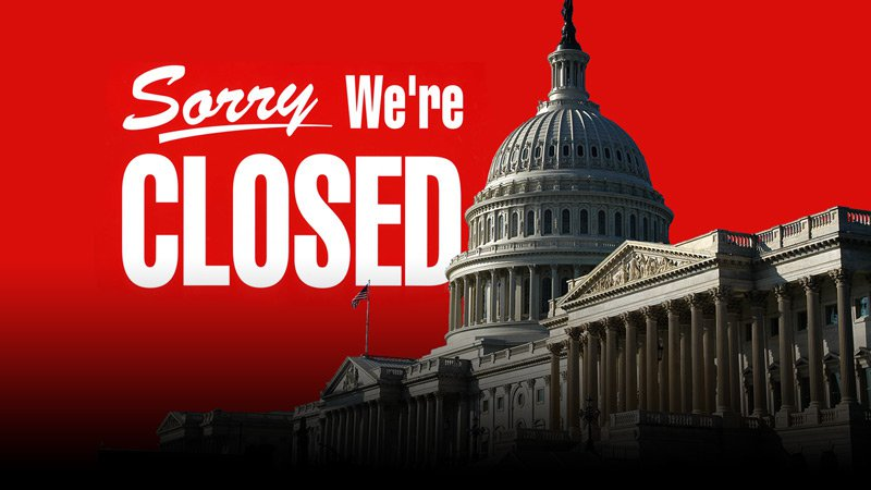 Government shuts down as lawmakers still searching for adeal