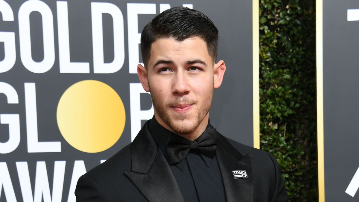 Nick Jonas Has The Most Perfect Golden Globes Date