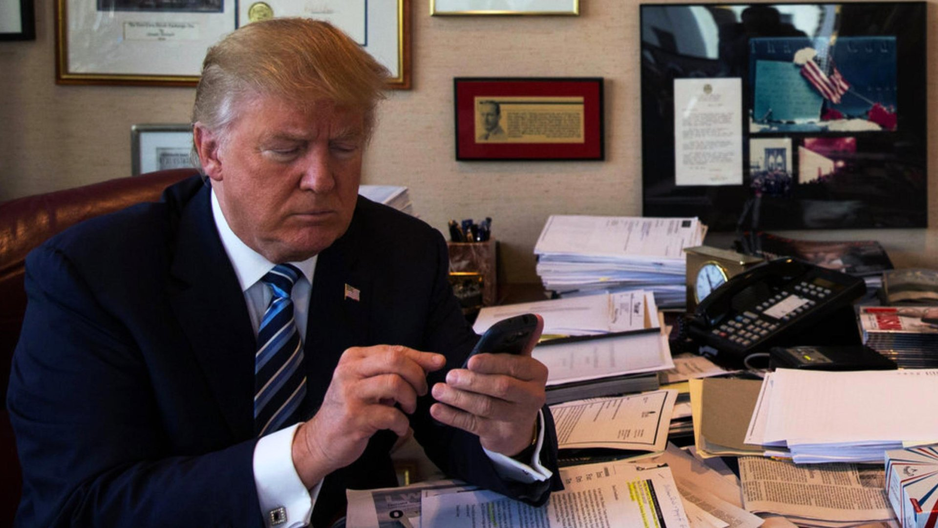 Trump starting his workday later to spend more time watching TV and tweeting: report https://t.co/kYwnXJzqRq https://t.co/QegPQKc5tJ