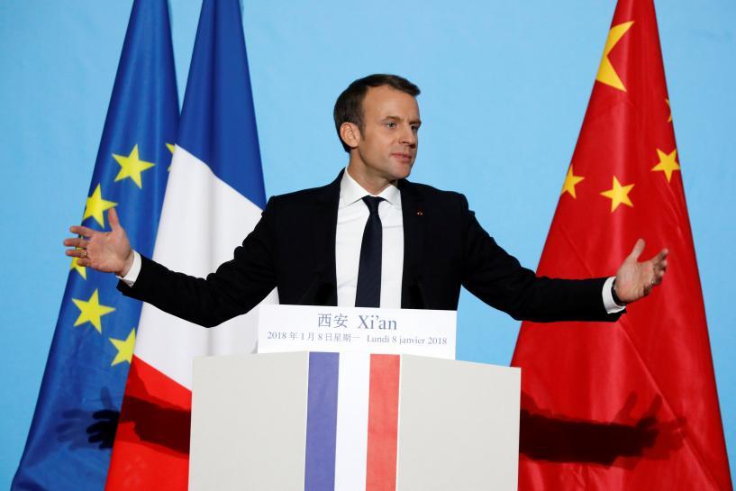 Macron seeks to woo China's Xi with 'horse diplomacy'
