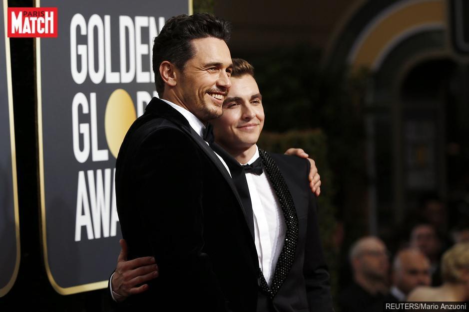 Golden Globes 2018 : la déclaration d'amour de James Franco à son petit frère Dave