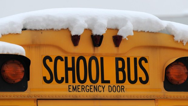 School bus cancellations for Monday, Jan. 8, 2018