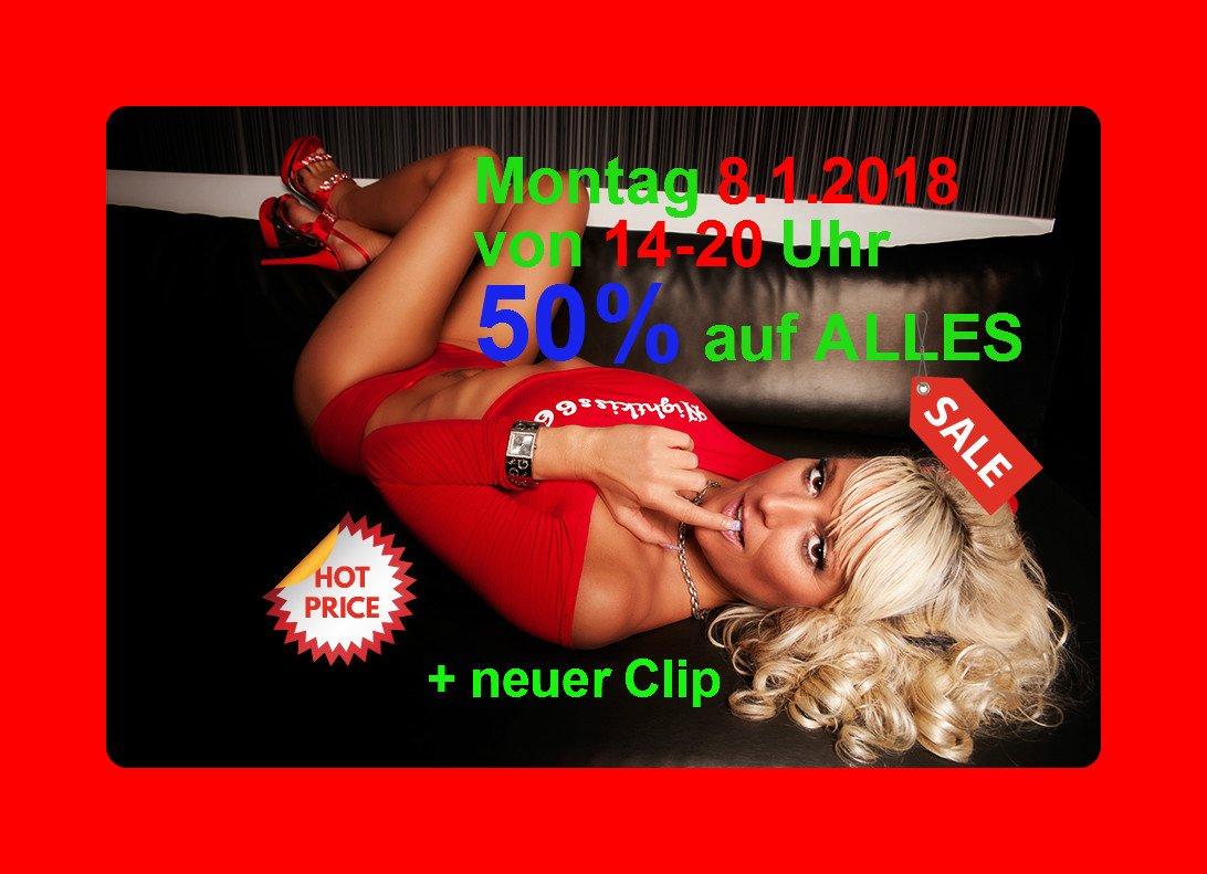 uCqKdEsAy4  50% auf ALLES von 14-20 Uhr !!! <3 MyDurtyHobby <3 wTA3LLIzWk