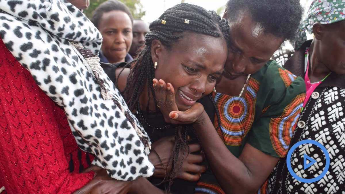 Children stabbed to death buried in emotional sendoff