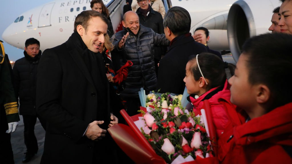 Macron launches China charm offensive, but will Xi be seduced?