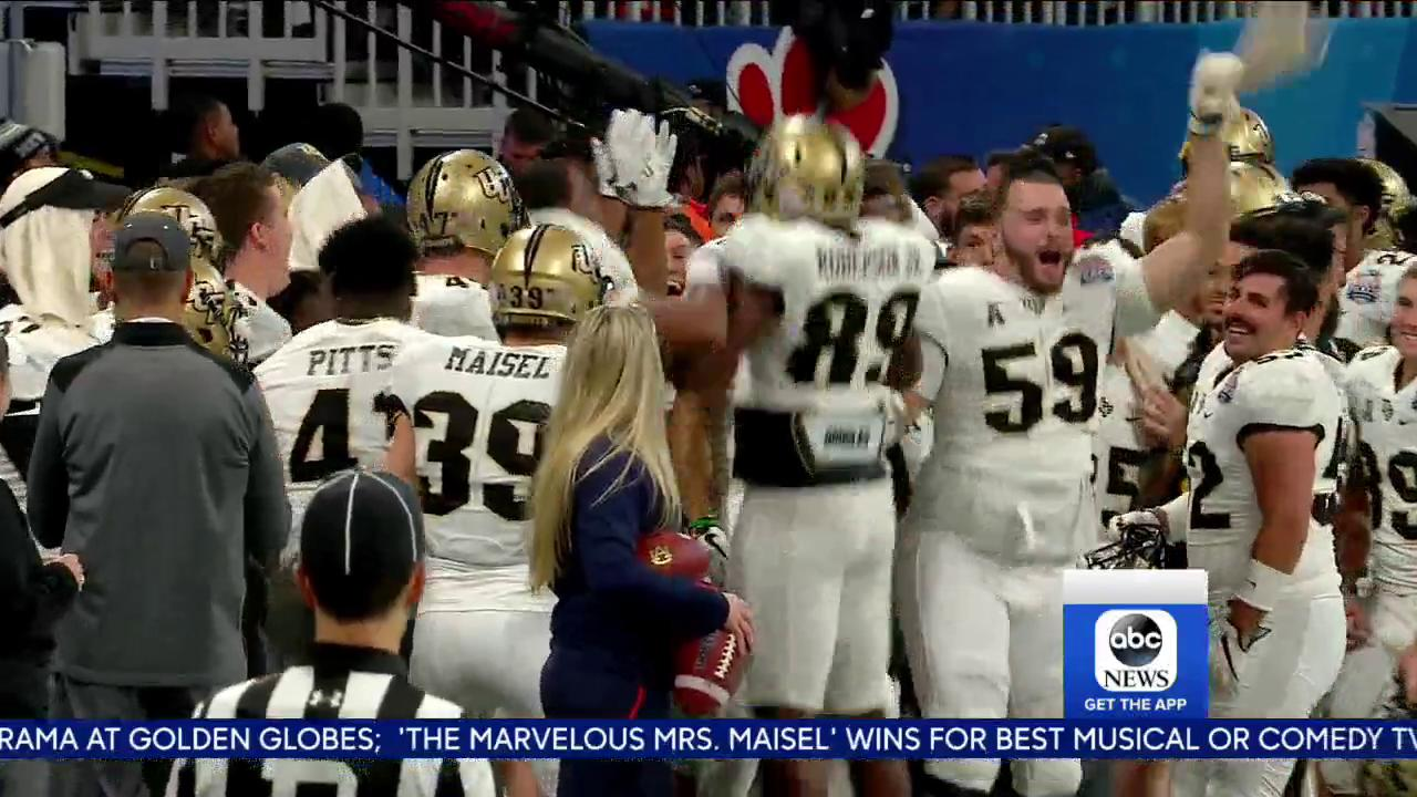 Shout-out to @UCF @UCF_Football! #ChargeOn https://t.co/lZZEVXBdym