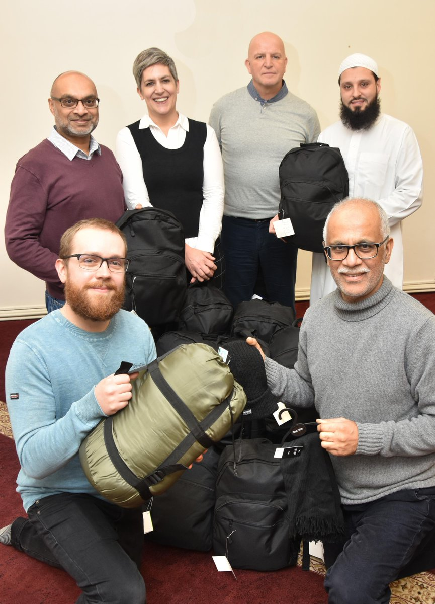 York Mosque helps the city's homeless