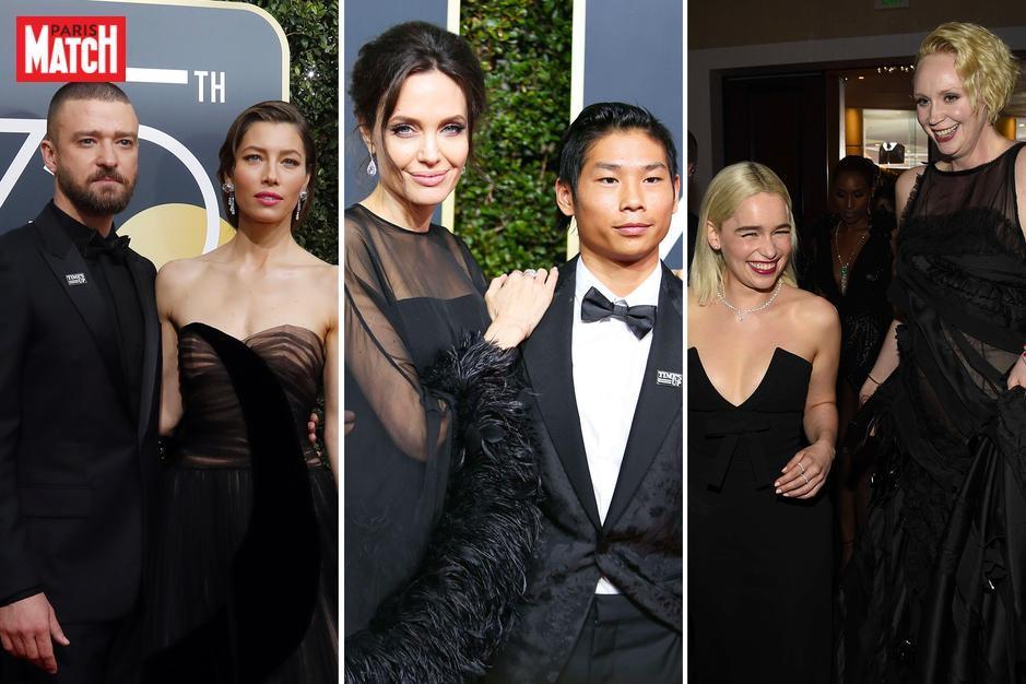 Golden Globes 2018 : En couple, en famille ou entre amis sur le tapis rouge