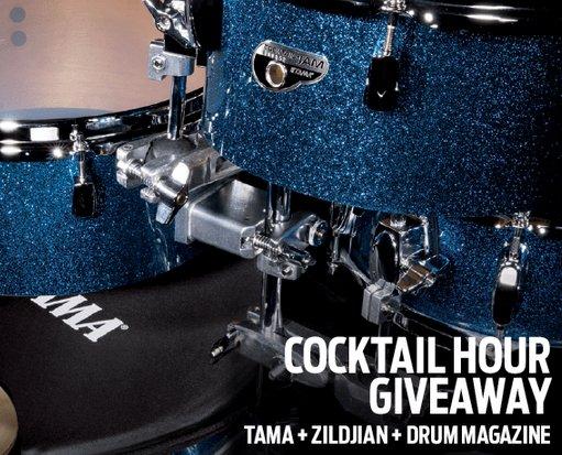 TAMA & Zildjian Giveaway