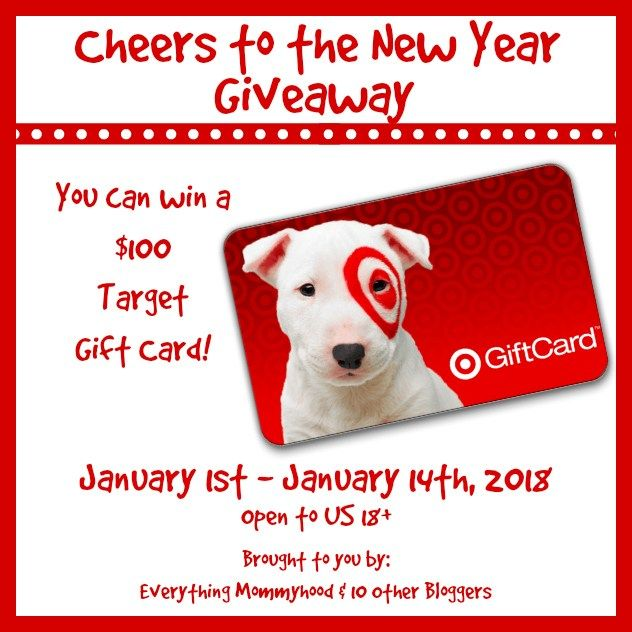 Cheers to the New Year $100 Target Gift Card Giveaway