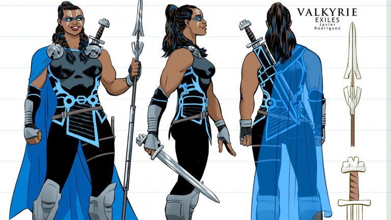 .@Marvel gives comic book Valkyrie a movie makeover in 'Exiles'