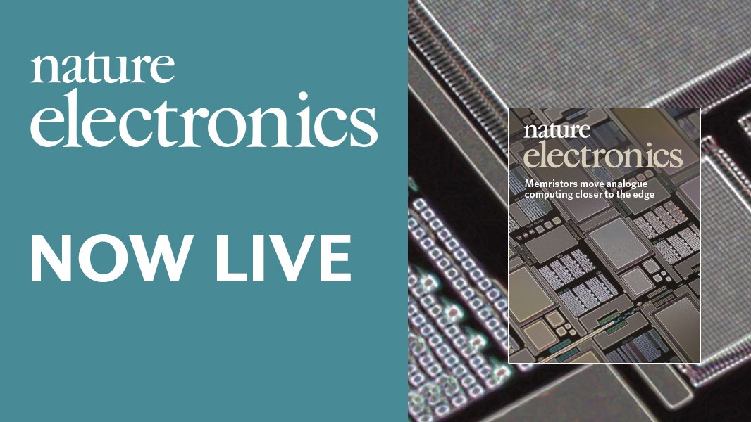 RT @NatureElectron: Our first issue is now online: https://t.co/T9JYDnNYLw https://t.co/R6Oo2wKw6G