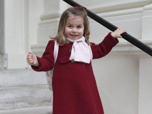 Princess Charlotte starts nursery school