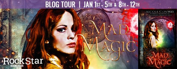 #BlogTour: MAD MAGIC by Nicole Conway // #Spotlight + #Giveaway