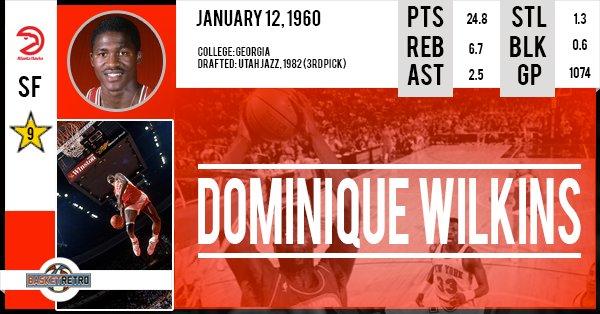 Happy Birthday Dominique Wilkins