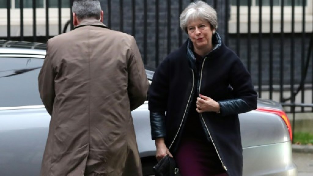 May shakes up government in crunch year for Brexit