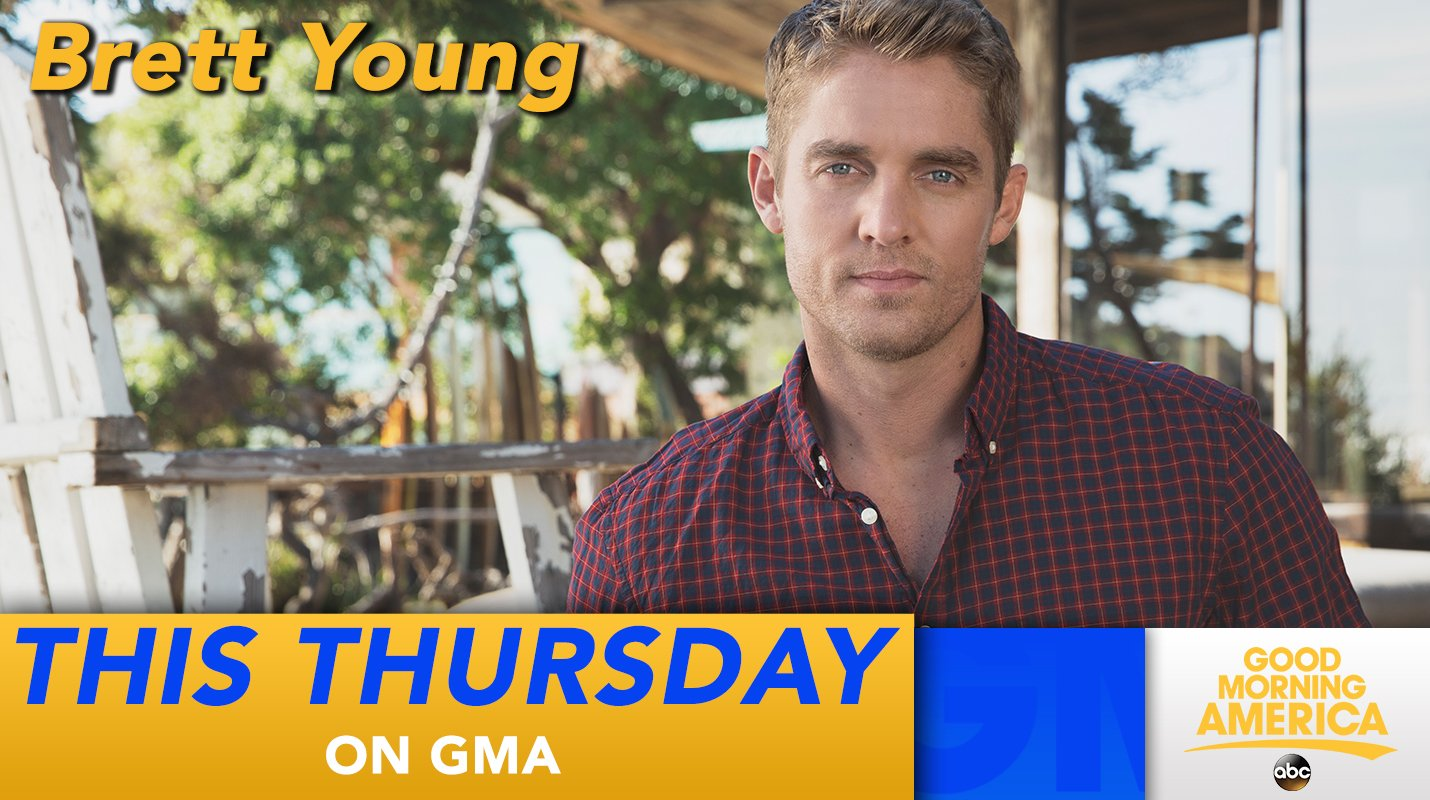 THIS THURSDAY: Country star @BrettYoungMusic performs LIVE in Times Square! https://t.co/DonKLgFDF2