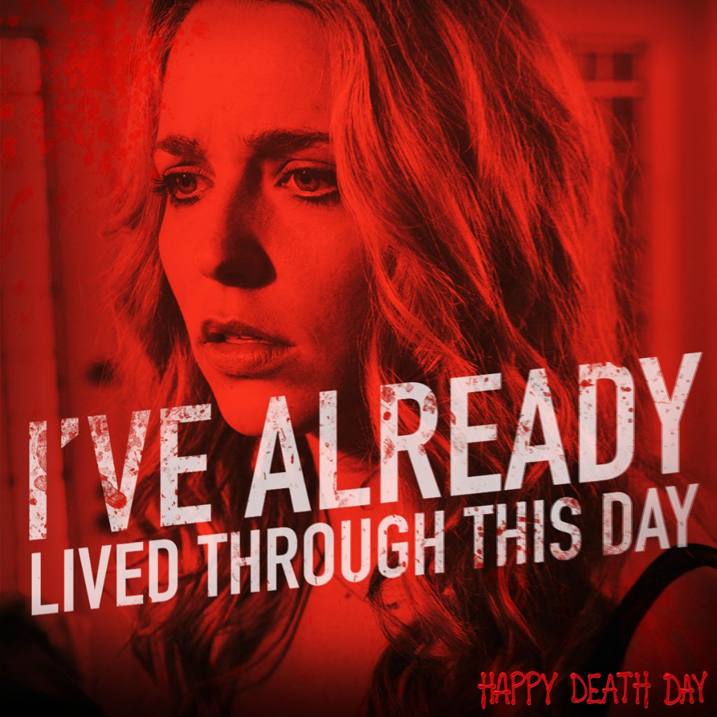 RT @UniversalHorror: Relive the thrills of #HappyDeathDay, now available on Digital: https://t.co/fXTUw2EW2Q https://t.co/UedtFFUiqA