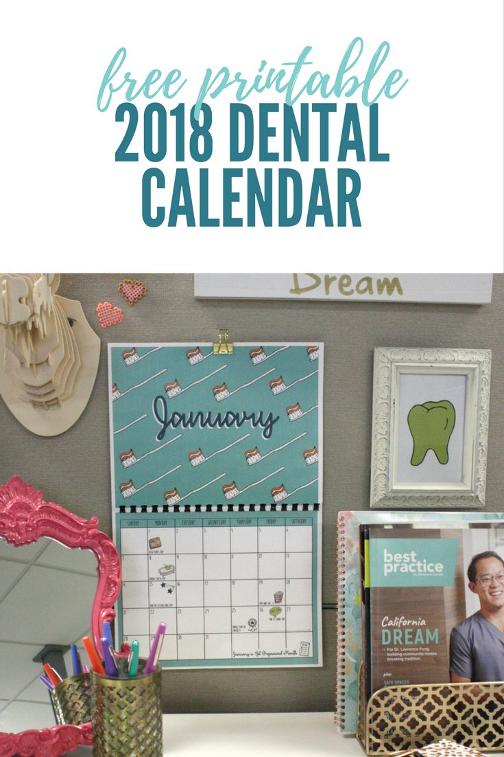 Do you know when all the big 2018 dental conferences are? How about when Doughnut Day falls this year, or when to turn your clock ahead for Daylight Savings? 😱Seems like you need a calendar! Download ours - it's beautiful...and  F∙R∙E∙E! https://t.co/KJyf1ZfCGK https://t.co/jNBEKv8VvY