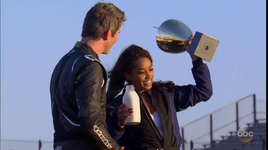 Seinne takes the #Bachelor demolition derby! https://t.co/VGhpqAboIx