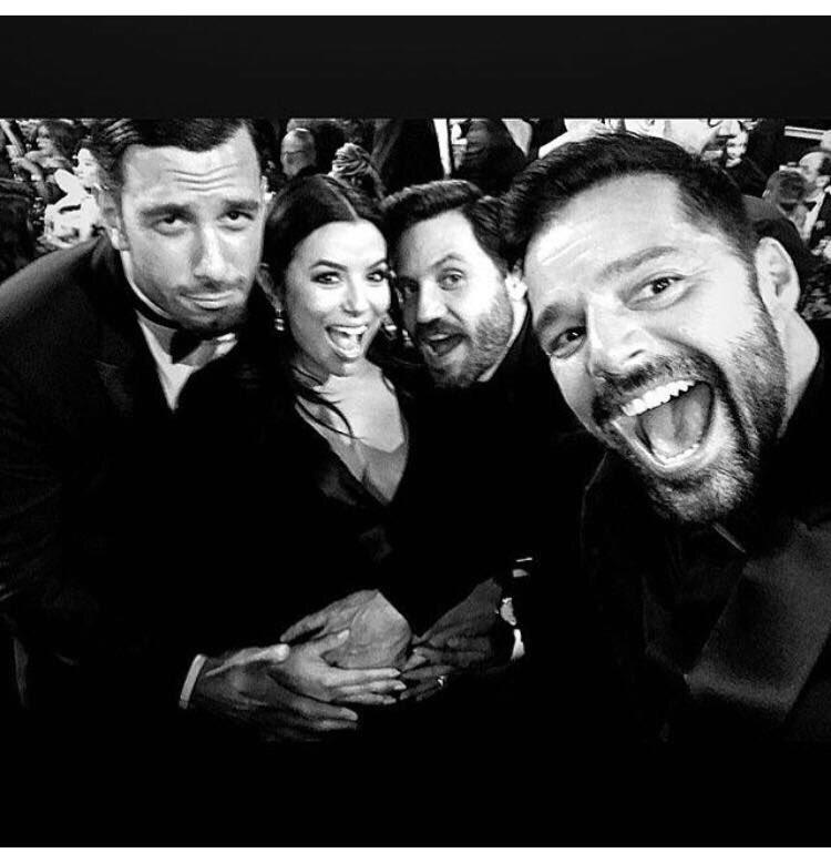 Nothing but love for these beautiful souls!! ❤️❤️❤️ #GoldenGlobes2018 @ricky_martin @edgarramirez25 #JwanYosef https://t.co/QKGP3Is3XR