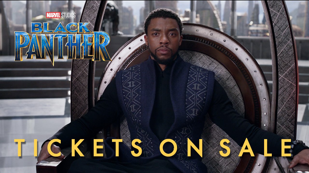 Long live the king. Marvel Studios' #BlackPanther tickets are now available: https://t.co/OT4u5v07bh https://t.co/7kA8R9DaNm