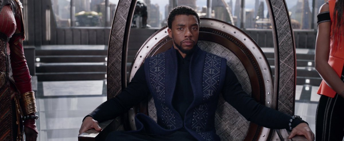 RT @chadwickboseman: Long Live the King. Get your #BlackPanther tickets NOW! 🎟️ https://t.co/8G0nGtkVAv https://t.co/gpRrKOouXF