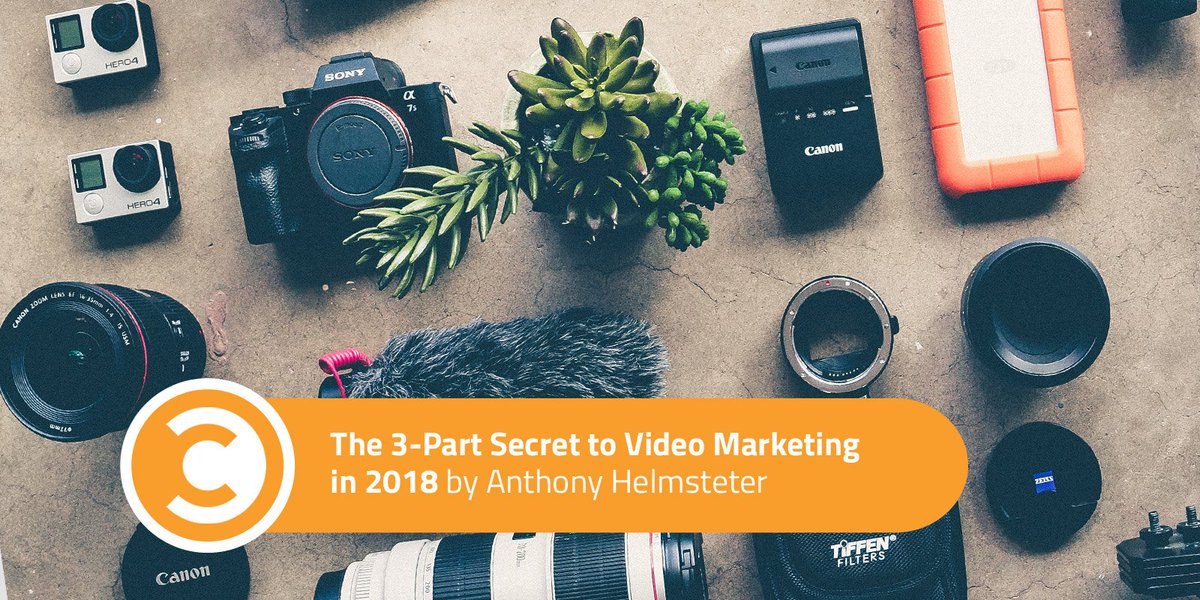 The 3-Part Top secret to #Video Advertising and marketing in 2018 | #Investigate  …