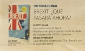 Brexit: What the Hell Happens Now? being promoted in the Colombian press. https://t.co/r7tMMsUlaq