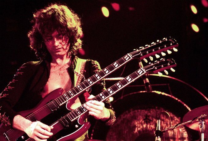 Happy Birthday to Jimmy Page from Led Zeppelin, born Jan 9th 1944