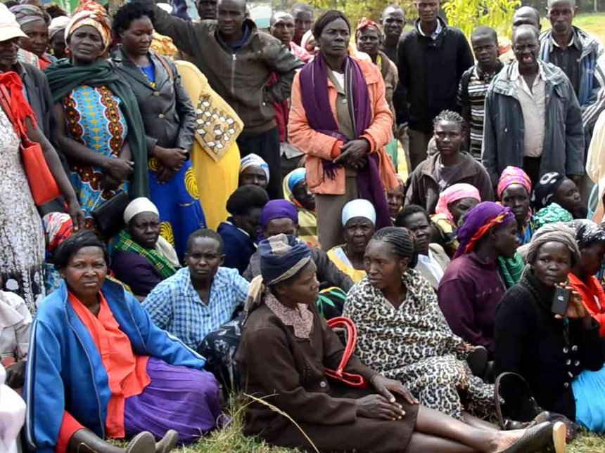 Trans Nzoia IDPs warned against making payments to cartels
