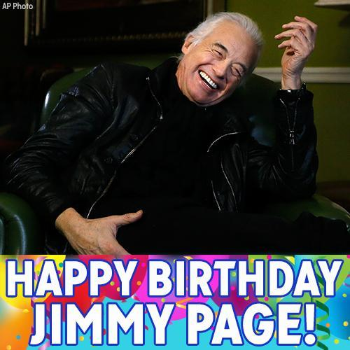 Happy Birthday to legendary Led Zeppelin guitarist Jimmy Page!