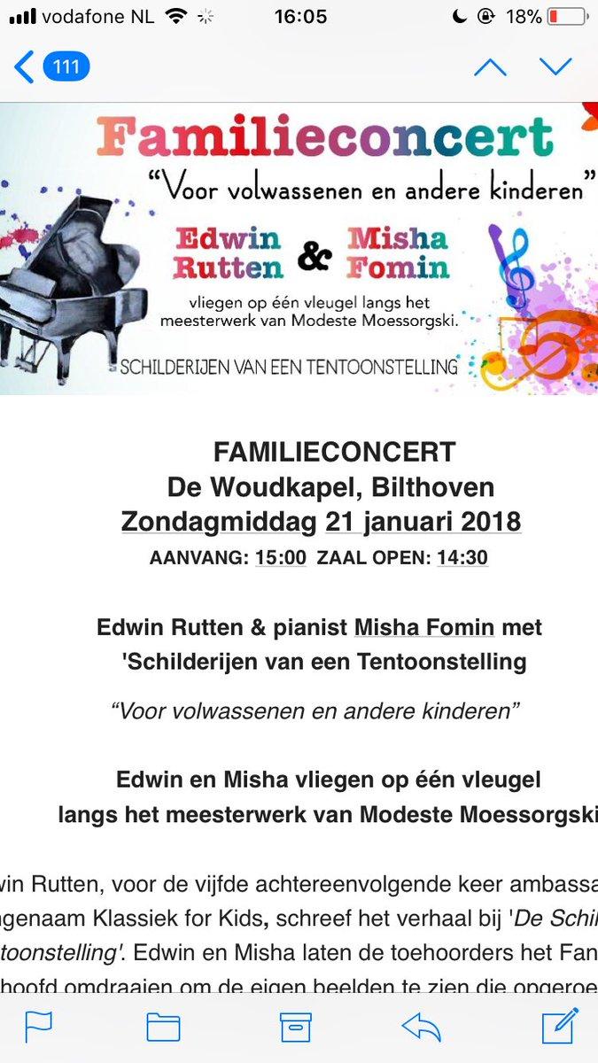 test Twitter Media - Kom naar een leuk #familieconcert in @gemeentedebilt met #MishaFomin en #edwinrutten #moessorgski https://t.co/A8Xwvmxw44