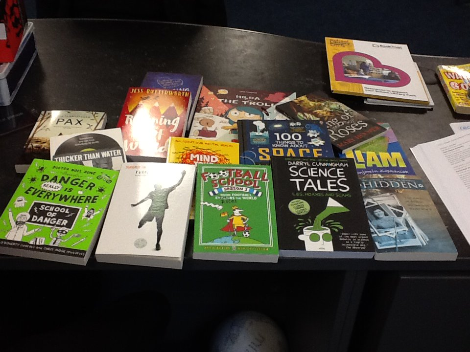 test Twitter Media - Just received the School Library Pack.  What a brilliant start to the new year. Thank you #BookTrust https://t.co/3H8v8SLUsi
