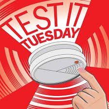 RT @INCOEducation: TEST YOUR SMOKE ALARMS PLEASE  #TuesdayThoughts #TestItTuesday https://t.co/GYokhveDjo