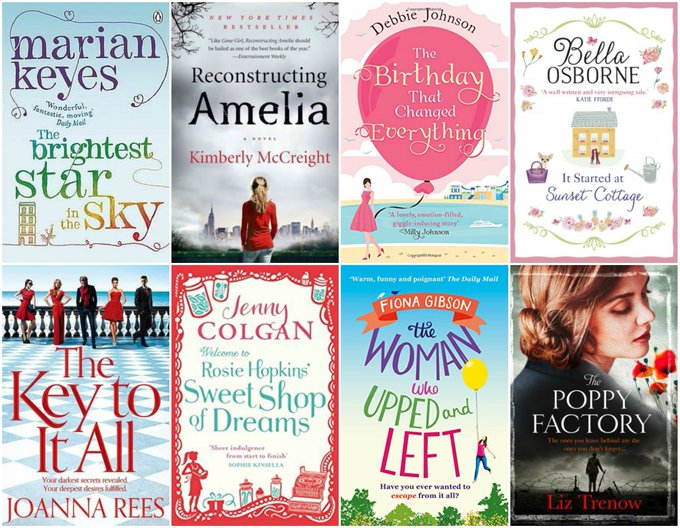 Eight Fantastic Books Giveaway